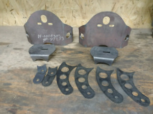 Air bag brackets and shock mounts