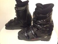 Nordica T 3.1 Womens Ski Boots (Black)