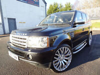 2008 Land Rover Range Rover Sport 2.7TD V6 Auto HSE - KMT Cars