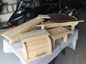 Bread Box and other White Pine Furniture