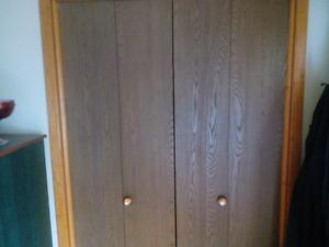 Porte maison intérieure et garde-robe