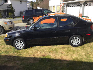 2006 Hyundai Accent Coupe (2 door)