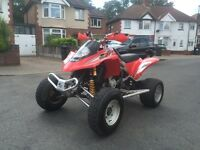 Road legal quad bike Gas Gas 450 sport not Yamaha raptor quadzilla