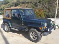 LHD 1998 Jeep Wrangler 4.0V6 Auto 4x4 TJ Safari Edition SPANISH REGISTERED