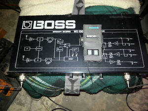 Boss diversity receiver WS-100 wireless system with transmitter