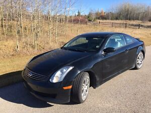 2006 Infiniti G35 Coupe Automatic. Moving out of Alberta.