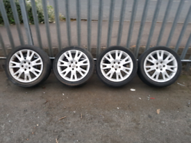 "17"" Renault alloy wheels"