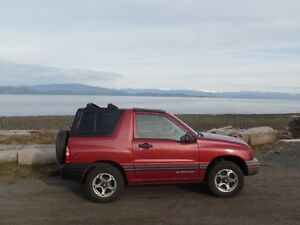1999 Chevrolet Tracker Convertible