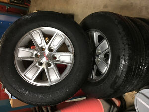 2016 GMC Tires and Rims