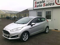 2013 FORD FIESTA ZETEC 1.2L ONLY 30,734 MILES, FULL SERVOCE HISTORY, £30 TAX