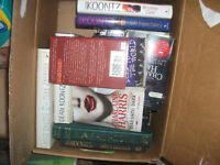 a box of books