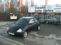 2003 FORD KA COLLETION 1.3L ONLY 60,949 MILES, IDEAL 1ST CAR,LOW INSURANCE GROUP