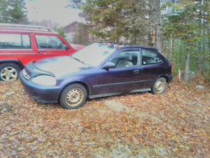2000 Honda Civic Cx Hatchback