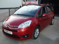CITROEN GRAND C4 PICASSO 1.8i 16v VTR+ 7 SEATER RUBY METALLIC 6 MONTHS WARRANTY