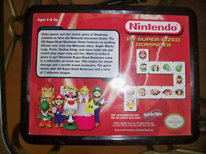 Nintendo 28 Super Sized Dominoes Sababa Toys 2004 Super Mario Se Windsor Region Ontario image 3