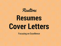 Quality Resume and Cover Letter Writing Help