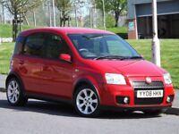 Fiat Panda 1.4 16v 100HP (red) 2008