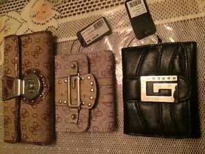 Selling 3 different GUESS brand wallets