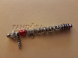 Authentic Pandora Charms Most Of Which Are Retired