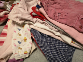 Baby girl 9-12months bundle of clothing