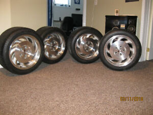 4 Corvette Tires & Rims