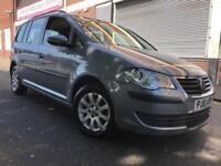 Volkswagen Touran 2010 1.9 TDI S 5 door (7 Seats) 1 OWNER, FSH, 6 MONTH WARRANTY