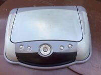Roof mounted DVD player/tv