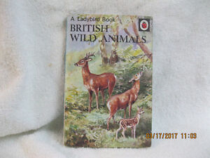 A LADYBIRD BOOK   BRITISH WILD ANIMALS