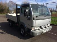2005 Nissan Cabstar 3.0 DIESEL NOT TIPPER COMPLETE WITH M.O.T AND WARRANTY