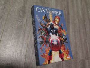 Bande dessinée AVENGERS, Civil War de Marvel (Français)