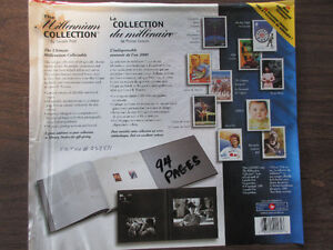 Stamp Collection Canada Post ( Millennium 2000) 94 Pages ( NEW)