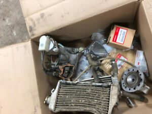2002+ honda cr250 cylinder and misc parts