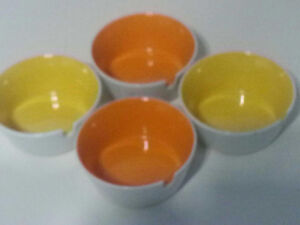 4 ceramic Ashtrays made in Japan West Island Greater Montréal image 2