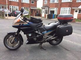 FJ1200 ABS Sports tourer with full touring luggage and extras.