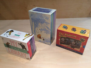 New sealed children's book sets. WInnie the Pooh Thomas