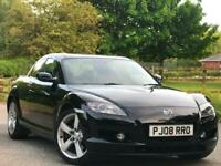 Mazda RX-8 1.3 192 bhp Coupe 5 door 54k FSH one owner from new 2008 08 Reg