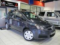 2006 VAUXHALL ZAFIRA 1.6i Expression 5dr LOW MILEAGE