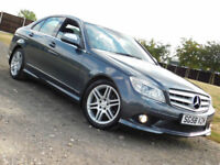 2008 58 Mercedes-Benz C CLASS C220 2.1TD AUTO CDI Sport**NEW MOT**