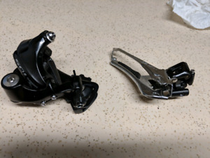 Pair of  new shimano 105 5800 derailleurs