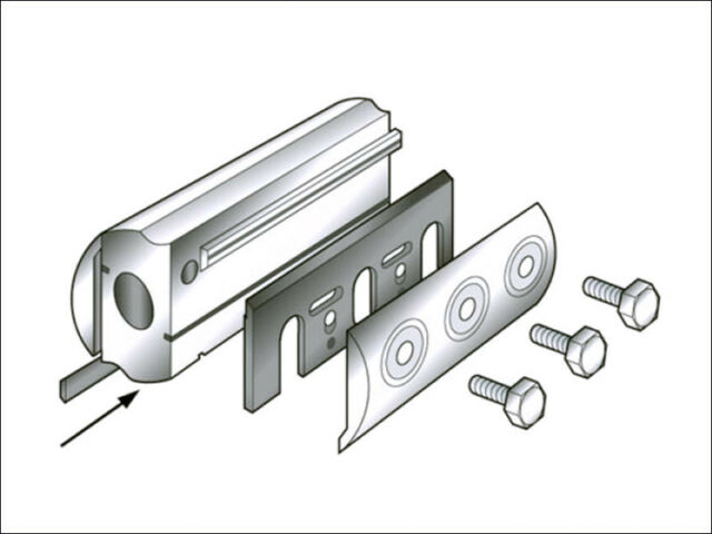 TREND PLANER BLADE 82mm CONVERSION KIT - Fits Most Makes
