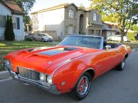 Matching Number 1969 OLDS 442 Convertible