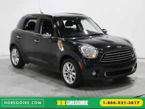 2012 Mini Cooper S Countryman A/C CUIR TOIT PANORAMIQUE MAGS