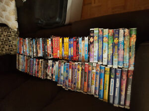 VHS and DVD movies