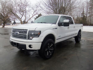 2012 FORD F150 SUPERCREW PLATINUM 4X4 !! LIFTED !!