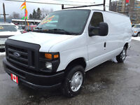 2011 FORD E-150 RSE ADVANCE TRAC FLEX FUEL CARGO VAN City of Toronto Toronto (GTA) Preview