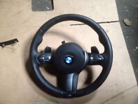 BMW Fx RANGE SMG PADDLE SHIT M SPORT STEERING WHEEL AND AIRBAG