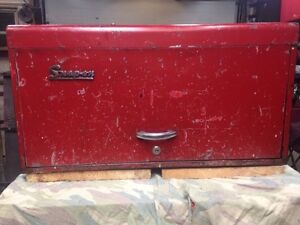 Snapon tool box with tools