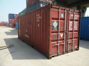 Safe / Secure Storage containers - Hamilton