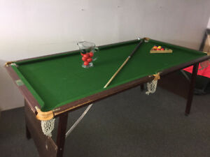 Small Snooker table for sale