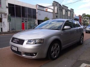 2004 Audi A3  Low Km ! ! ! 10months REGO Collingwood Yarra Area Preview